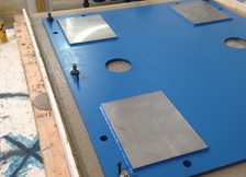 machine base grout