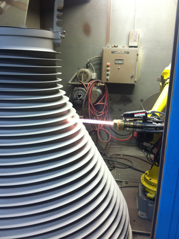 Aircraft Carrier Engine Room: Thermal Spray Coatings