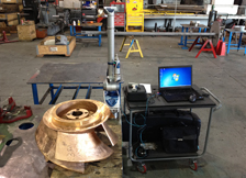 Inspection of Impeller with FARO Arm