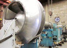 Large Impeller and Shaft Balancing