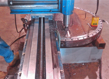 Milling Exchanger Head