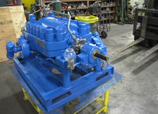Rebuilt Multistage Pump Ready for Install