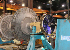 Turbine Runner in Portable Turning Device